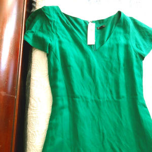 Ann Taylor Green Dress New with Tag
